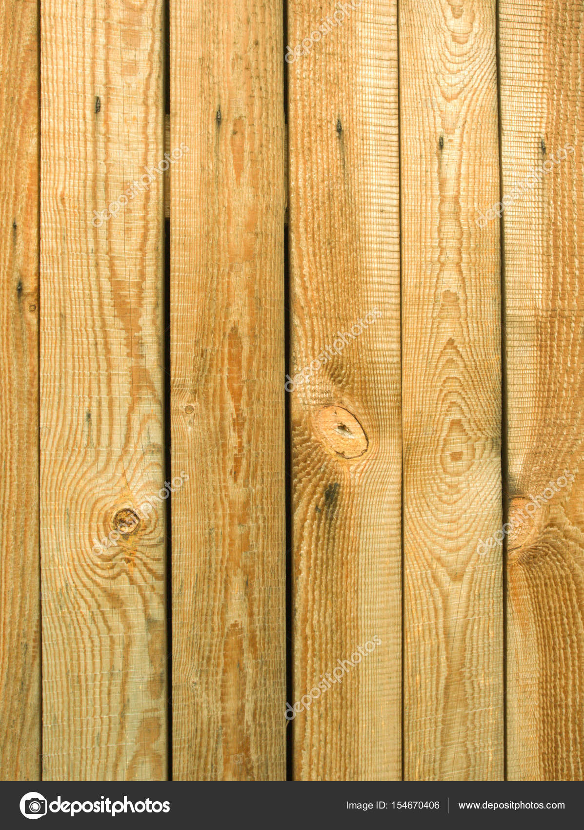 old pine vertical wood planks as background � stock photo
