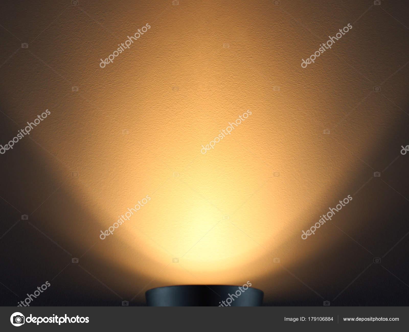 Oświetlenie ścian Ciepłe światło Lampy Oświetlenie Dołu