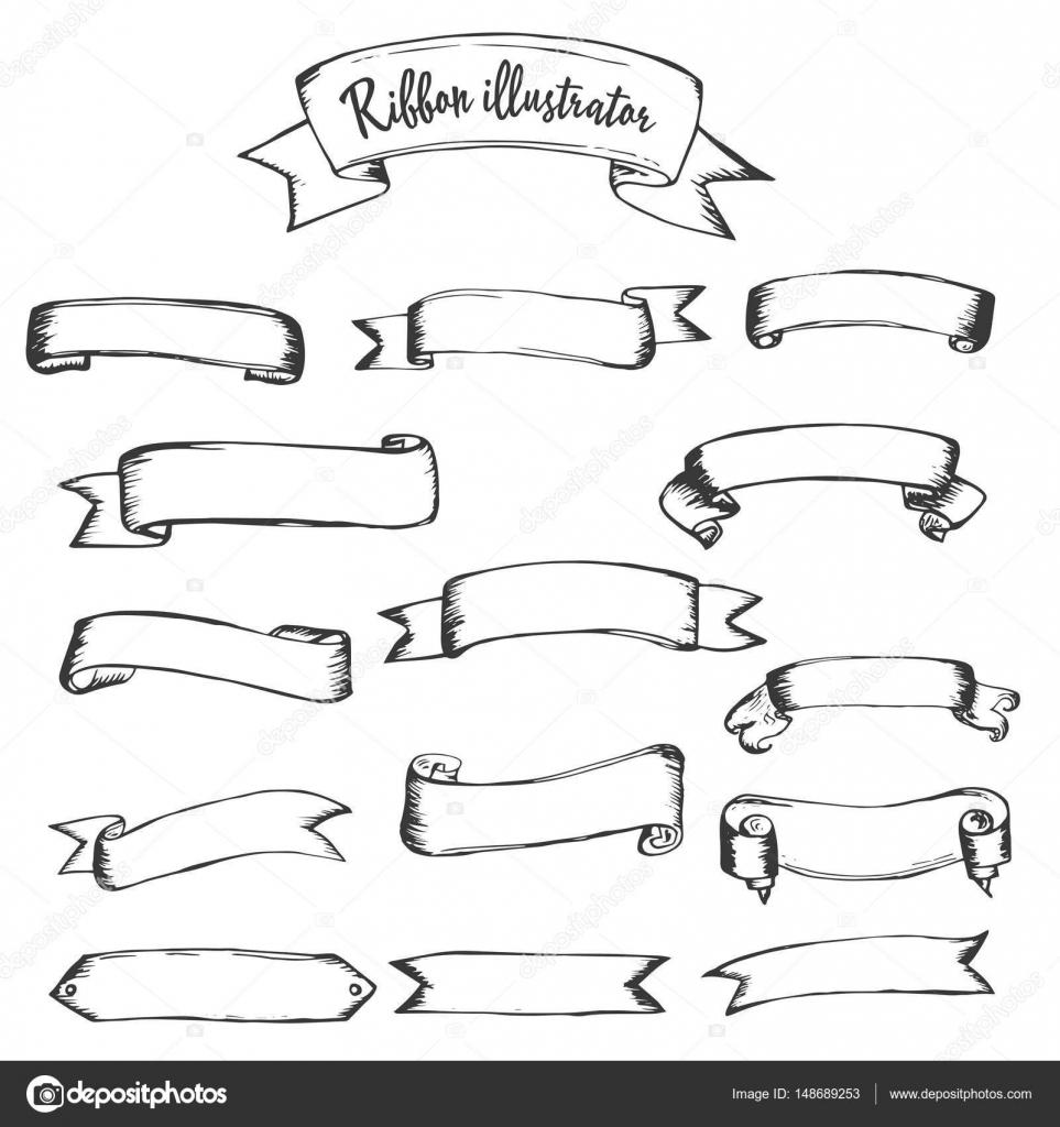 リボン イラストレーター クリップアート — ストックベクター © natka80
