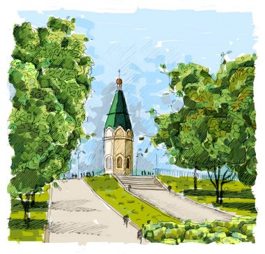 Chapel in Krasnoyarsk