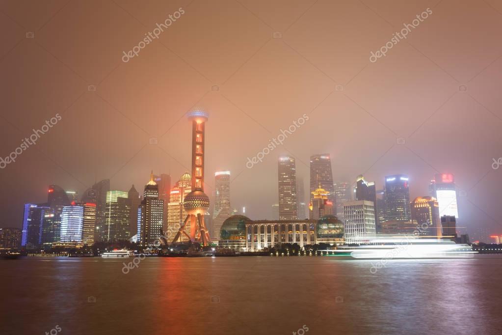 Фотообои The night scene of modern city