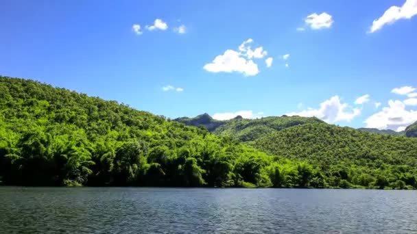 Příroda, hory, obloha, řeka