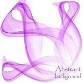 Abstraktní pozadí s fialovým vlny