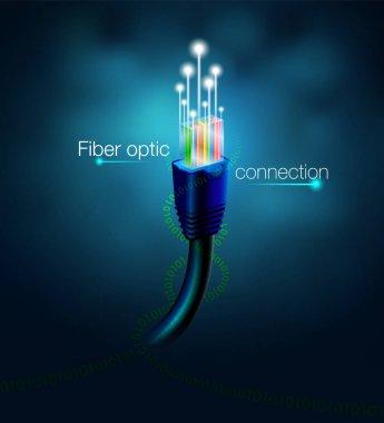 fiber optic connection