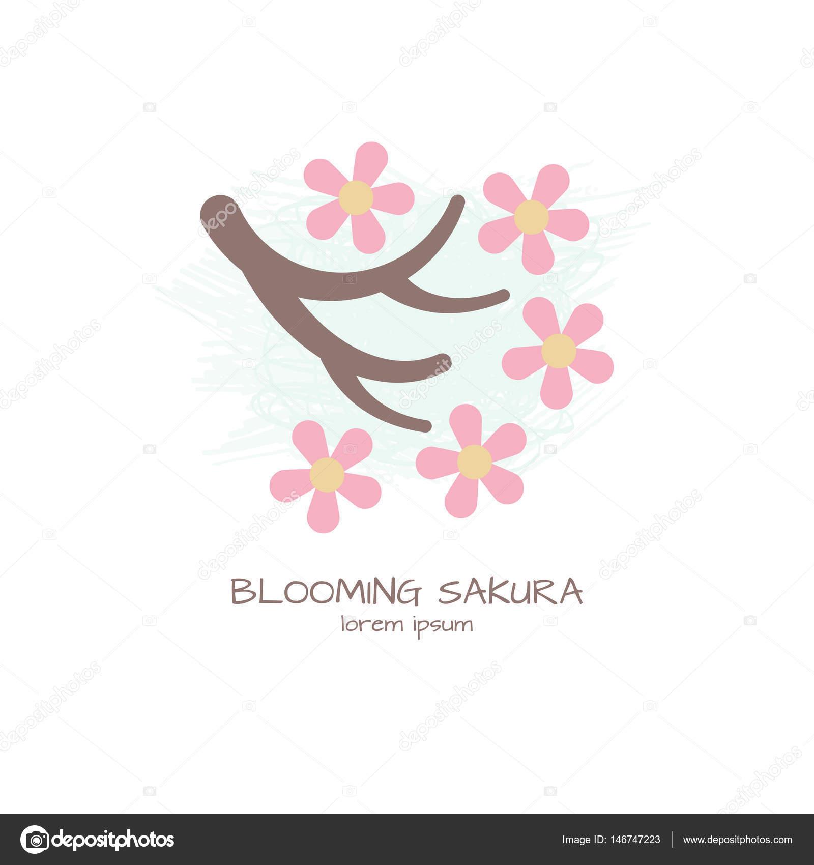 桜ベクトル イラスト ストックベクター Annareichel 146747223