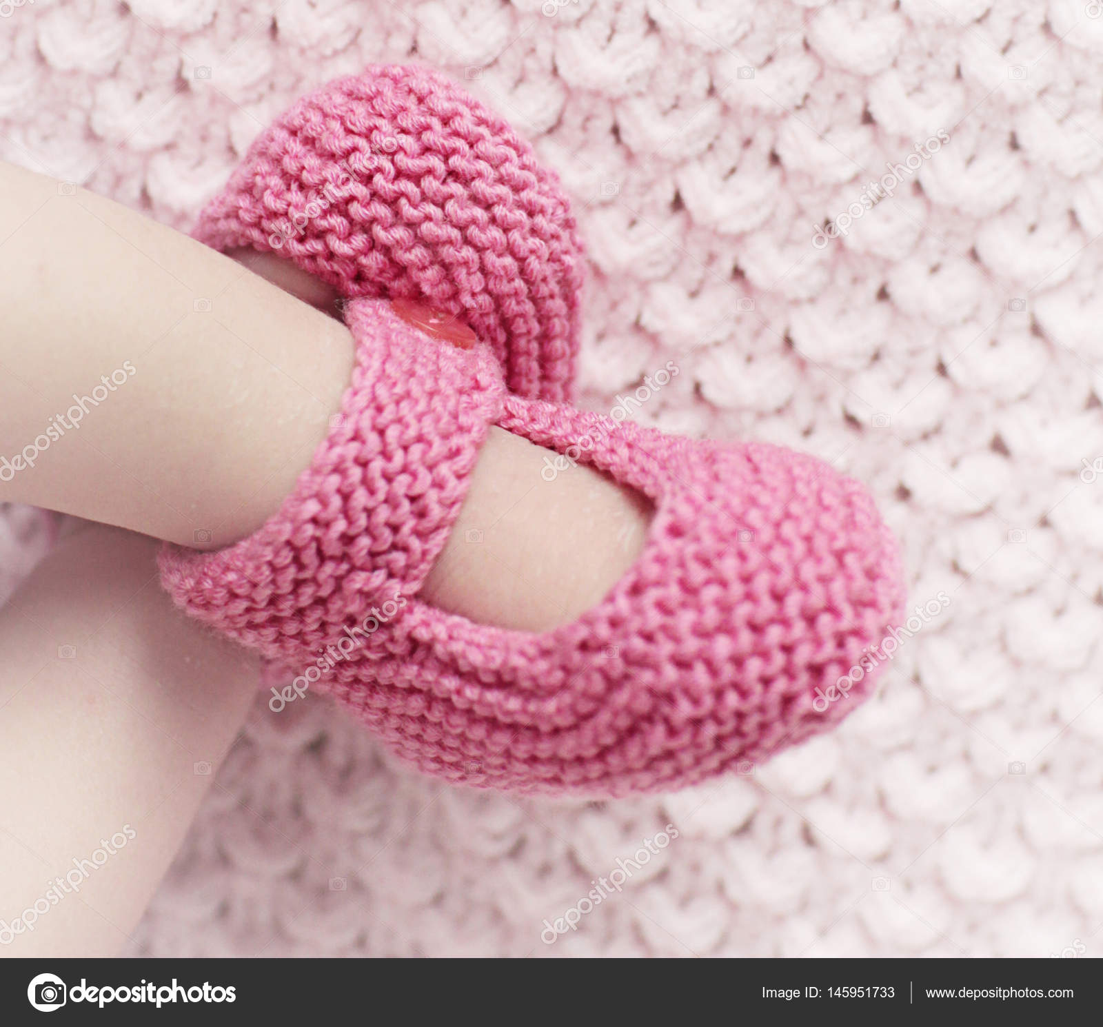Baby socks background — Stock © Juhhamy