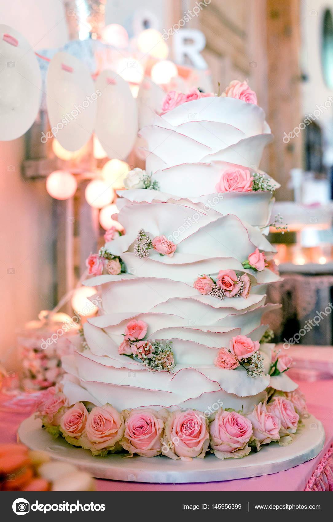 Wunderbar Schöner Kuchen Hintergrund U2014 Stockfoto