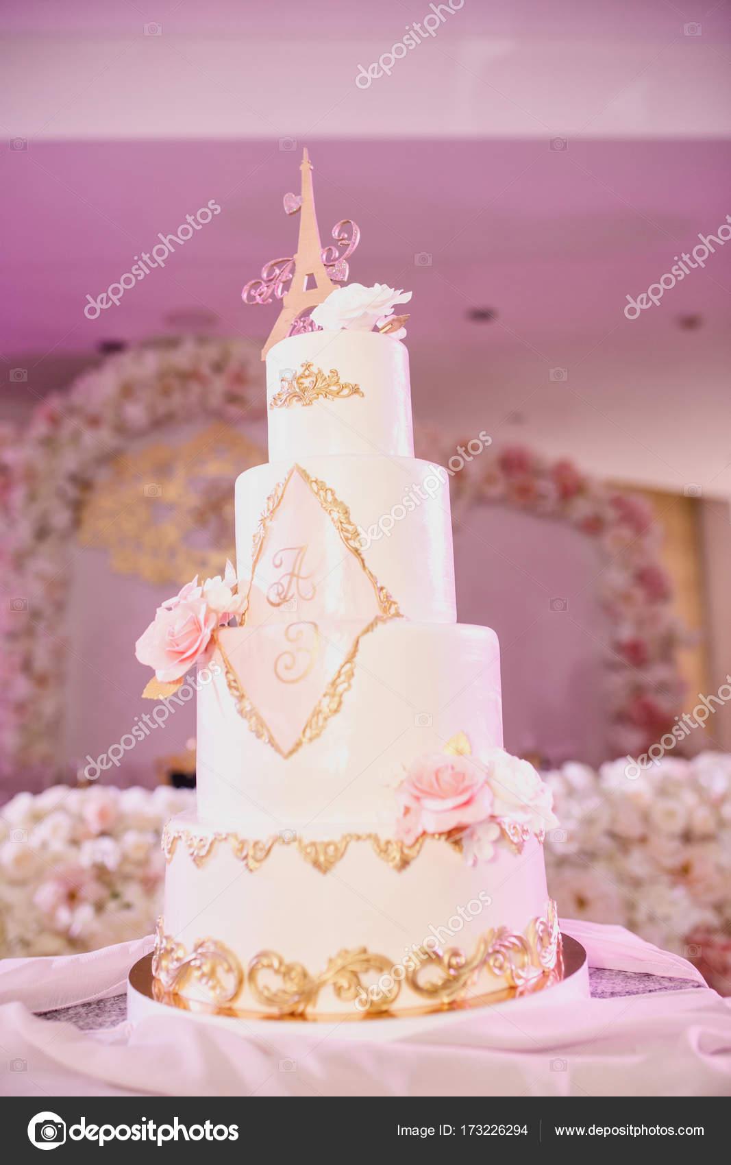 decoración de la boda hermosa — Fotos de Stock © alexander.margo ...