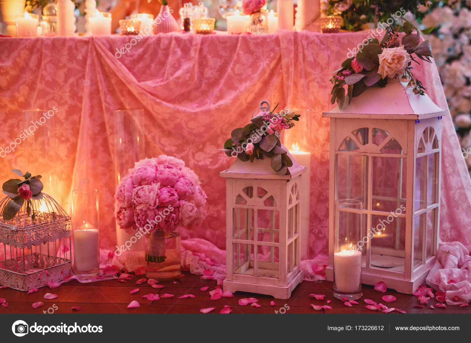 decoración de la boda hermosa — Foto de stock © alexander.margo ...