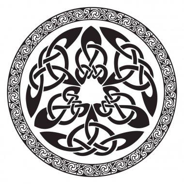 Round Celtic Design