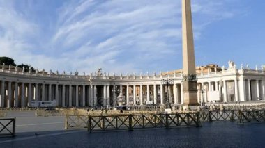 Panoramic view of St. Peter Square