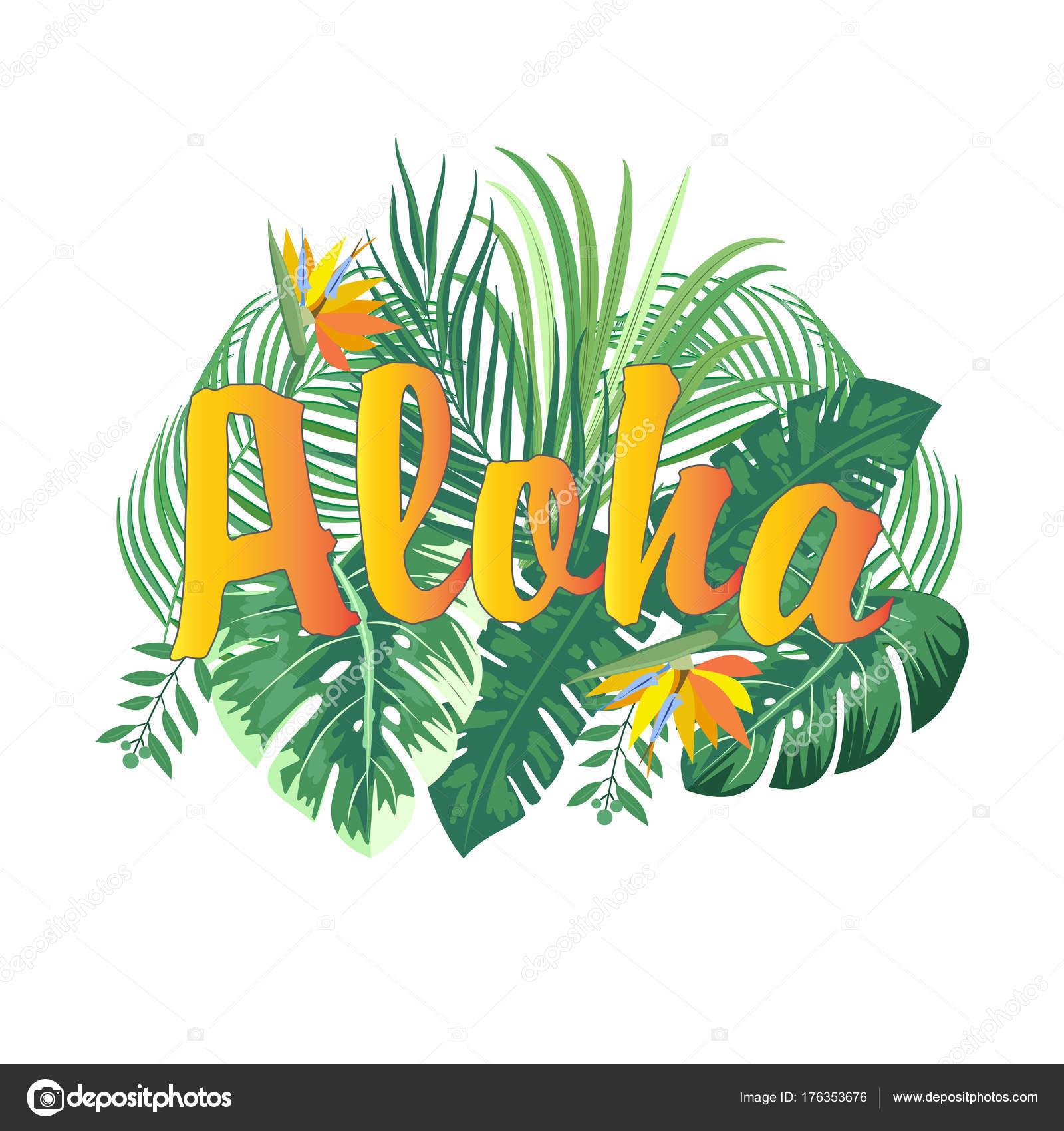 Aloha Hawaii T Shirt Design Best Creative For Poster Flyer Presentation Vector Background By Artlu