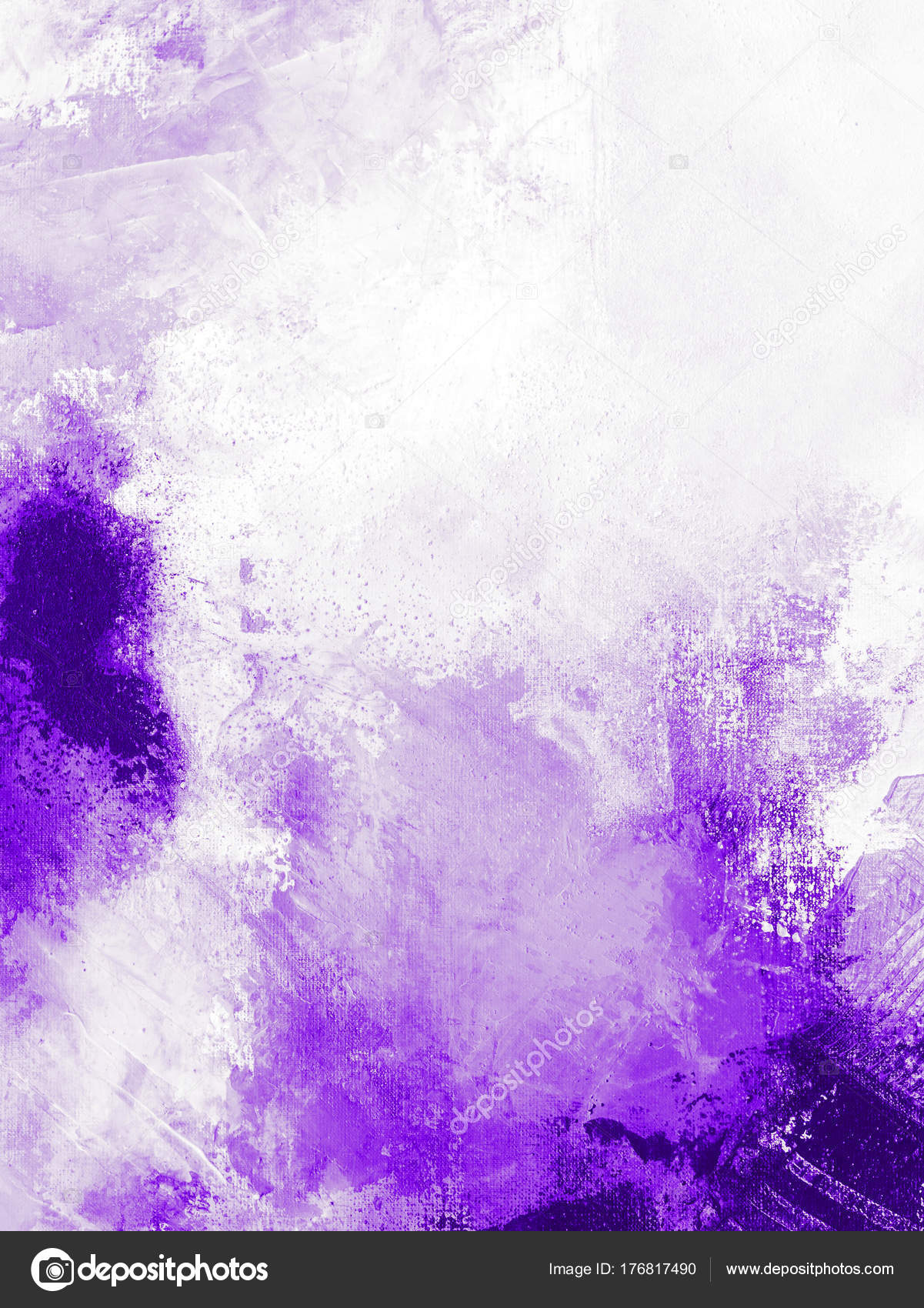 Ultra Violet Abstract Texture Background Texture Painting Stock