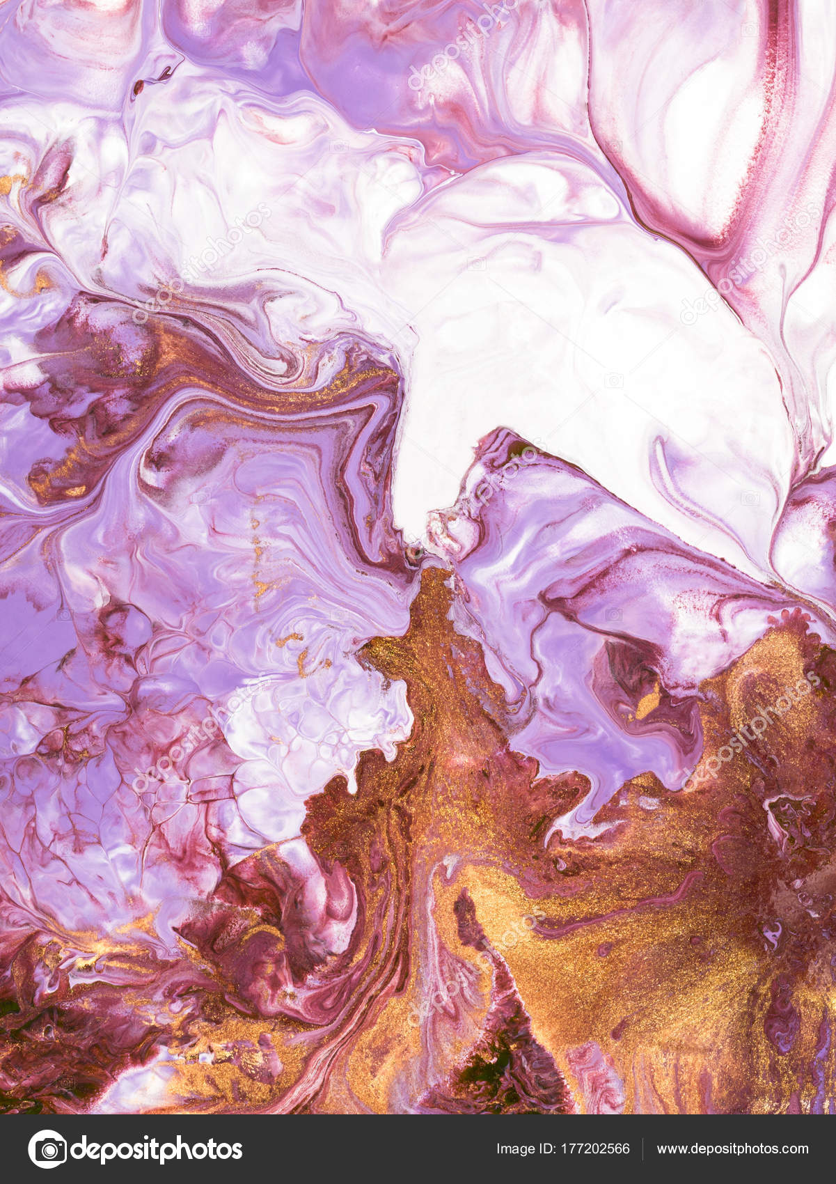 Background Marble Pink And Gold Pink With Gold Marble Abstract Hand Painted Background Stock Photo C Artlu 177202566