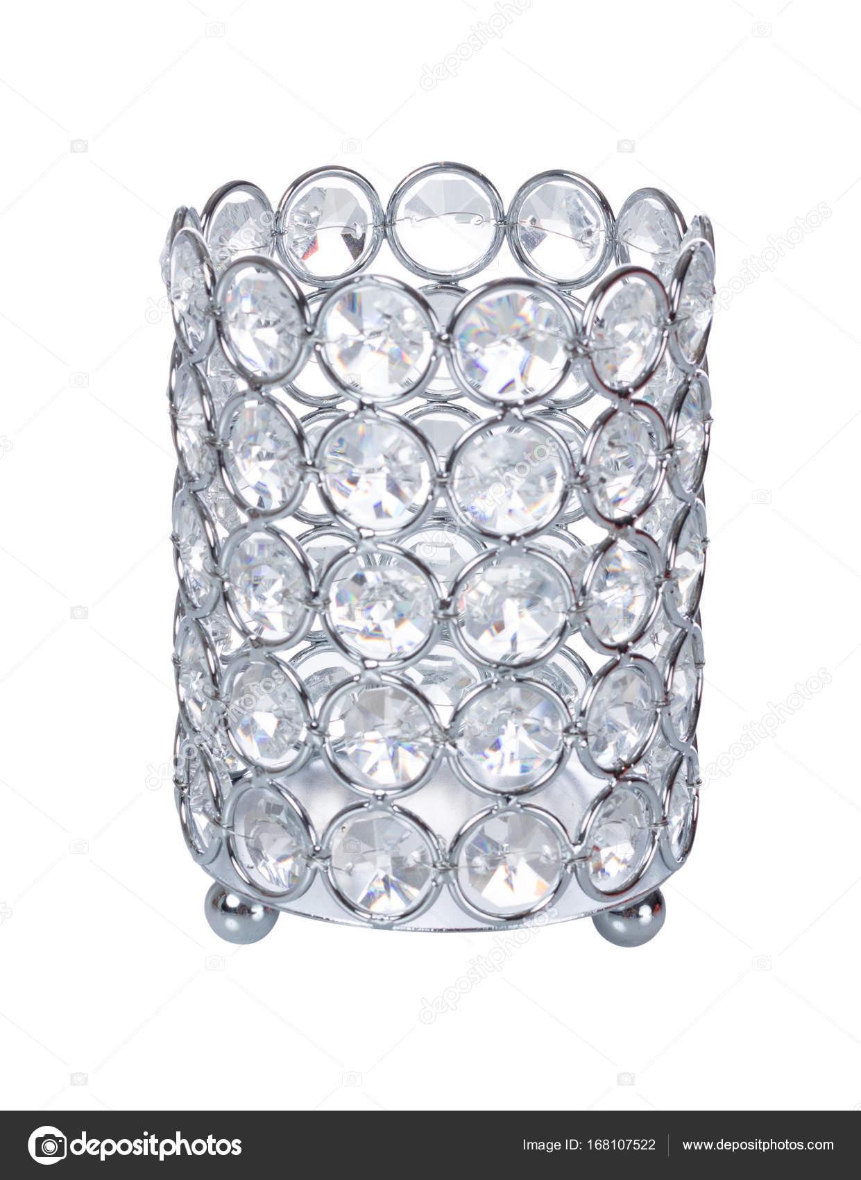 Beautiful luxury crystal vase with crystals isolated on white beautiful luxury crystal vase with crystals isolated on white background photo by miho666 reviewsmspy