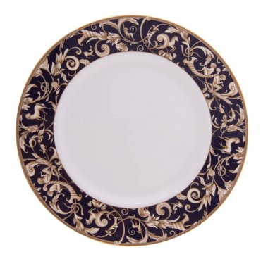 Luxurious beautiful colored ceramic dish for food