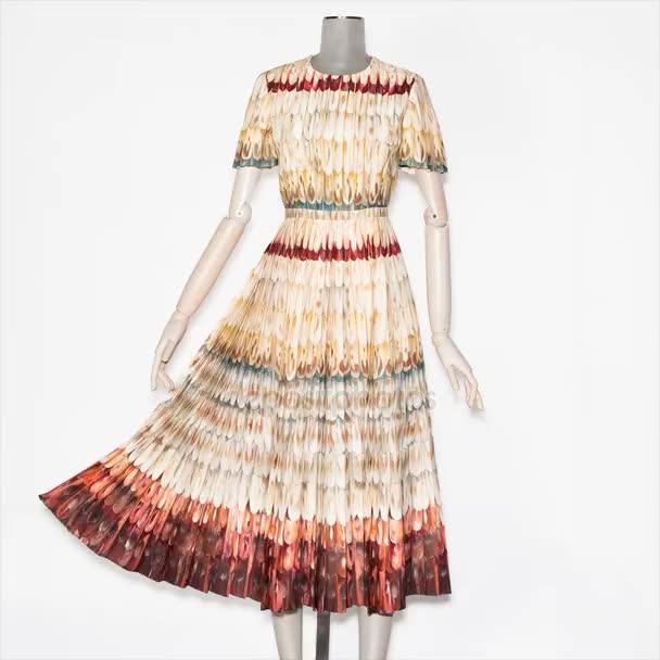 Figurína v krásné pohyblivé šaty