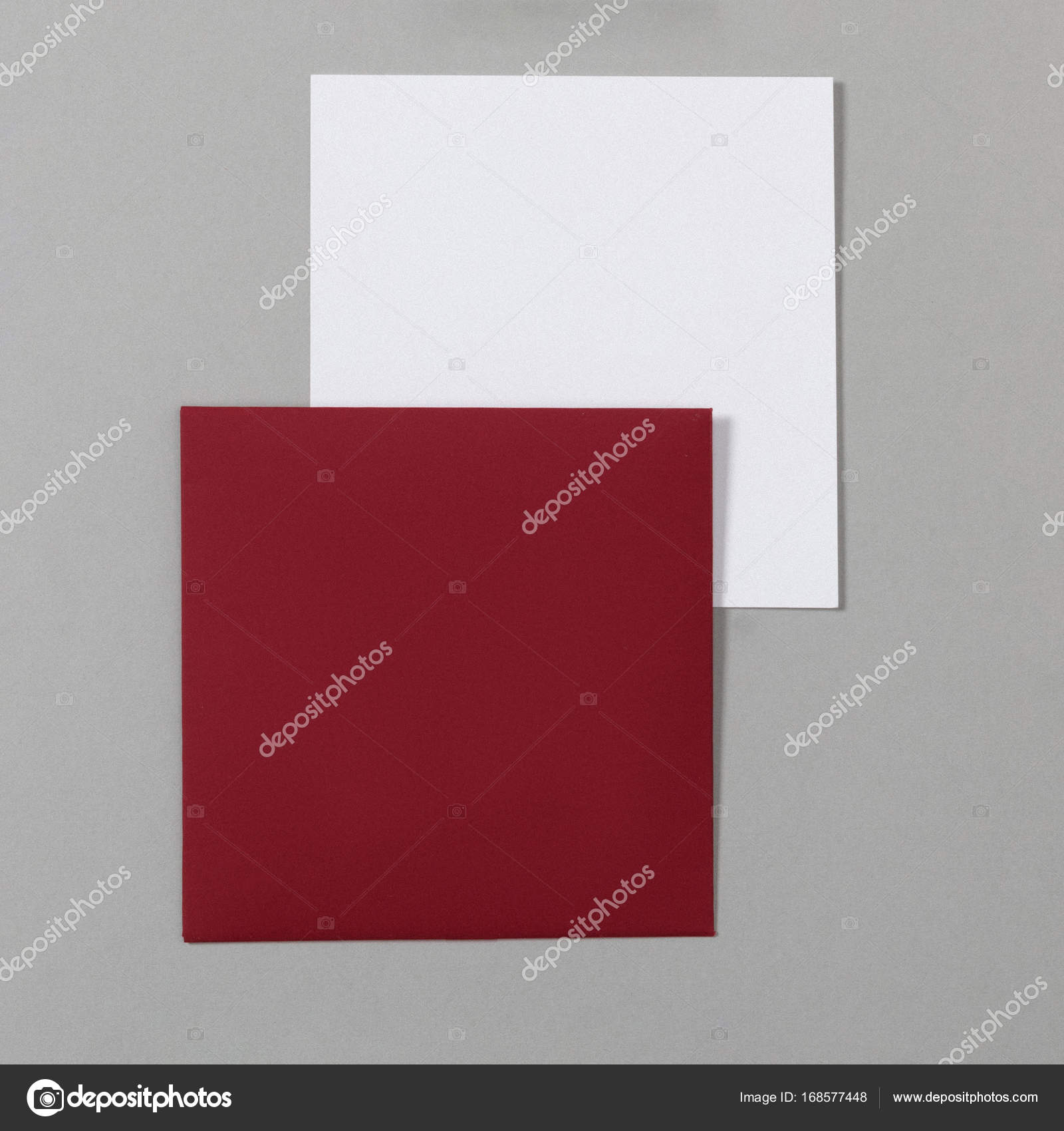 Maqueta de papelería, una plantilla para la identificación de la ...