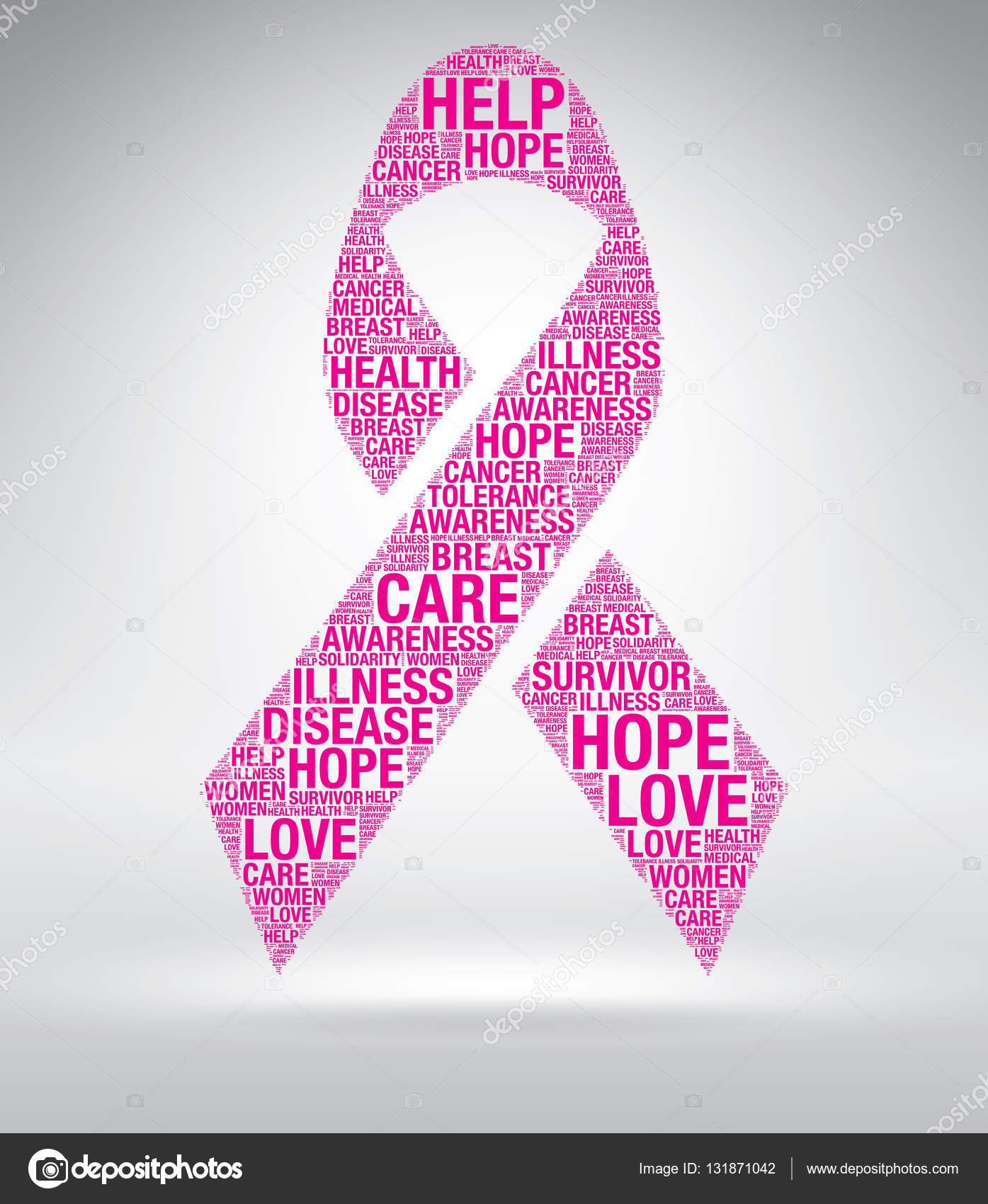 Pink ribbon vector breast cancer word cloud stock vector pink ribbon vector breast cancer word cloud stock vector biocorpaavc Image collections
