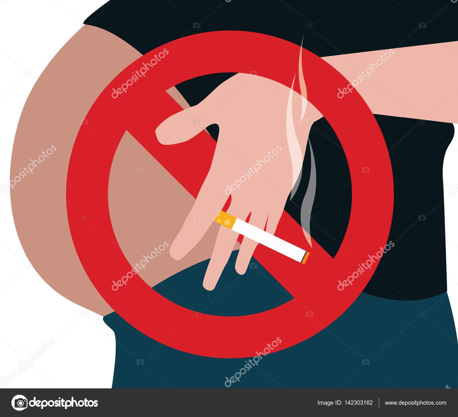 Roken Tijdens Zwangerschap Vector Teken Stockvector