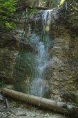 Photo waterfall in National park Slovak Paradise in Slovakia