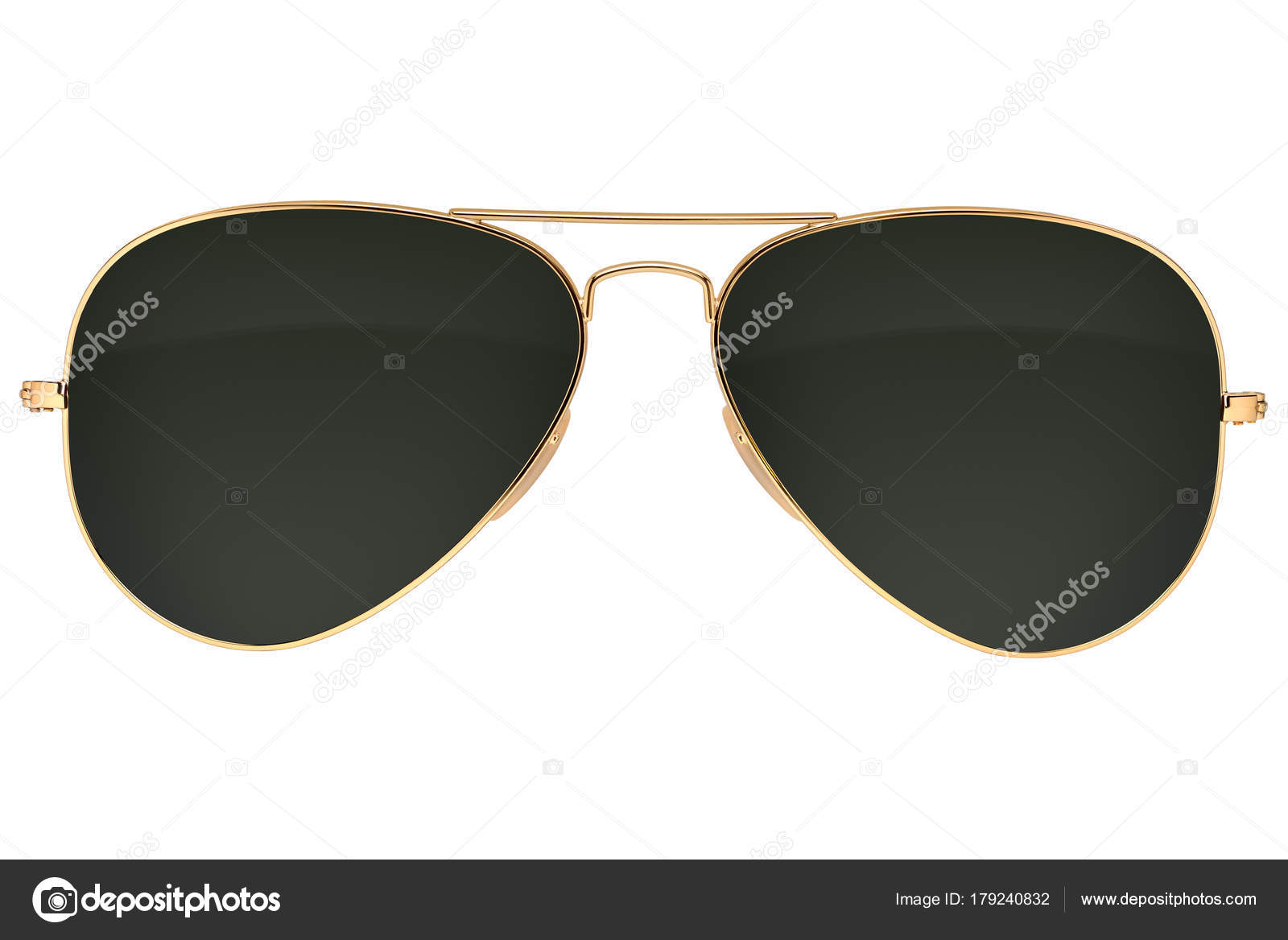 gafas de sol de aviador aisladas — Fotos de Stock © Ha4ipiri #179240832