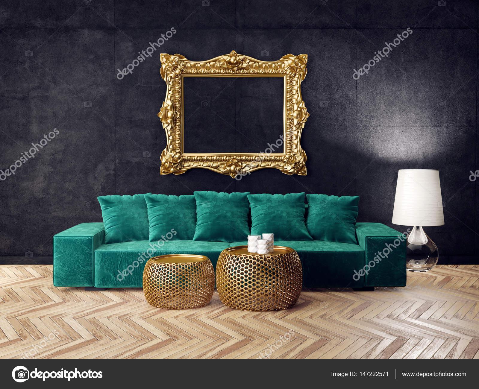 Habitaci N Con Muebles Modernos Foto De Stock Alexroz 147222571 # Niza Muebles Y Objetos