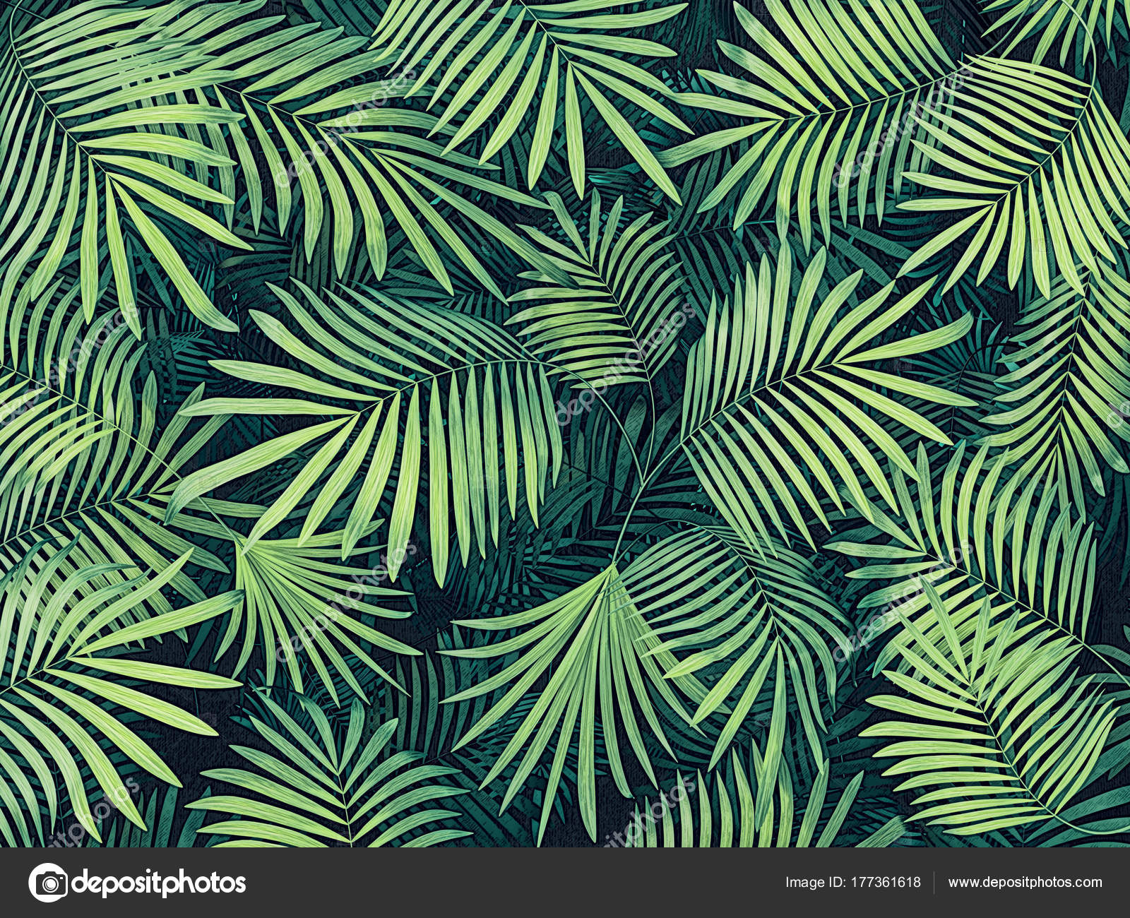 Tropical Leaves Background Stock Photo C Alexroz 177361618 To get more templates about posters,flyers,brochures,card,mockup,logo,video,sound,ppt,word,please visit. https depositphotos com 177361618 stock photo tropical leaves background html