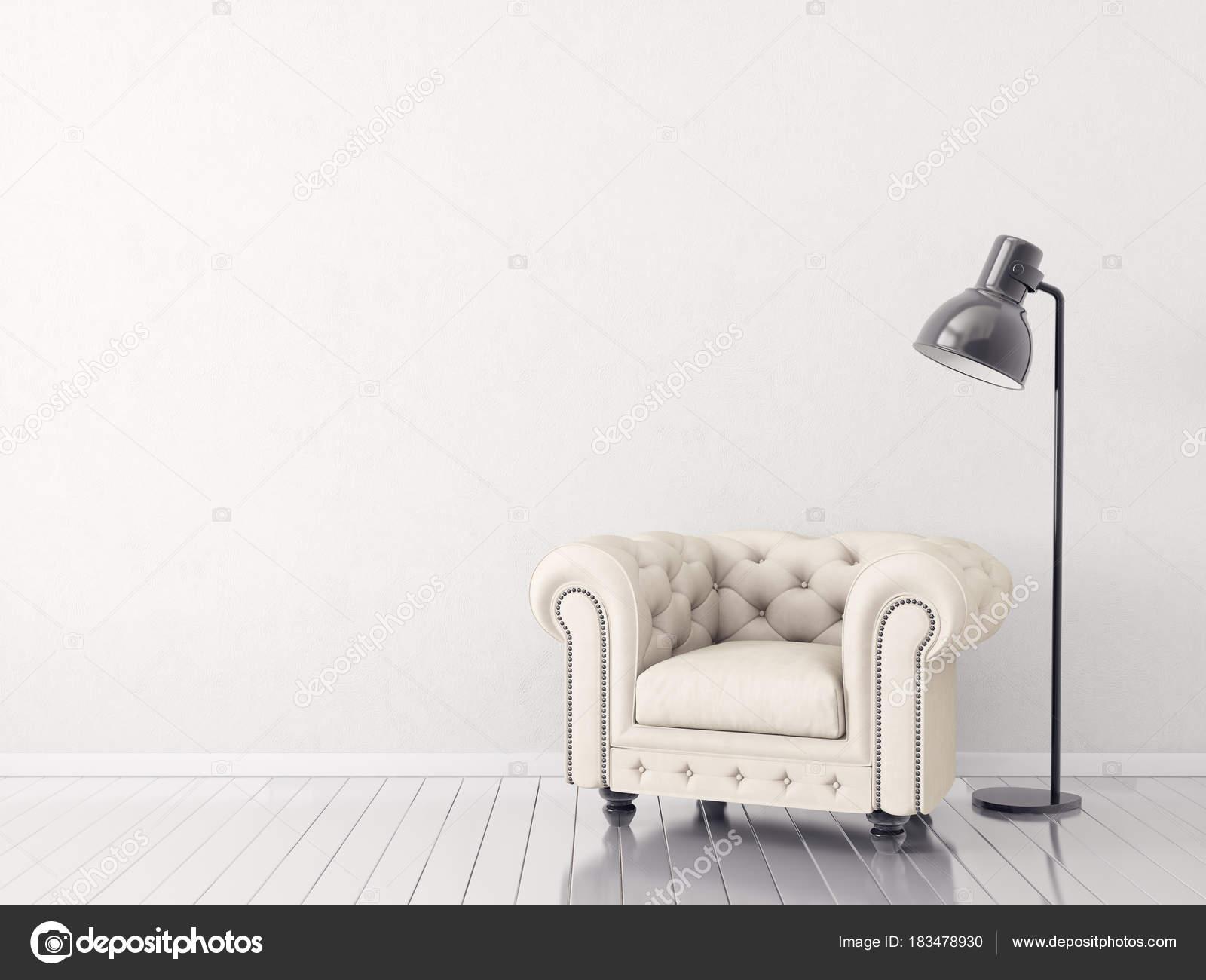 Moderno Minimalista Living Comedor Con Sillón Muebles Diseño ...