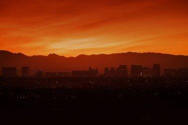 Skyline and Las Vegas Strip