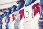 Auto Dealer obchodní koncept