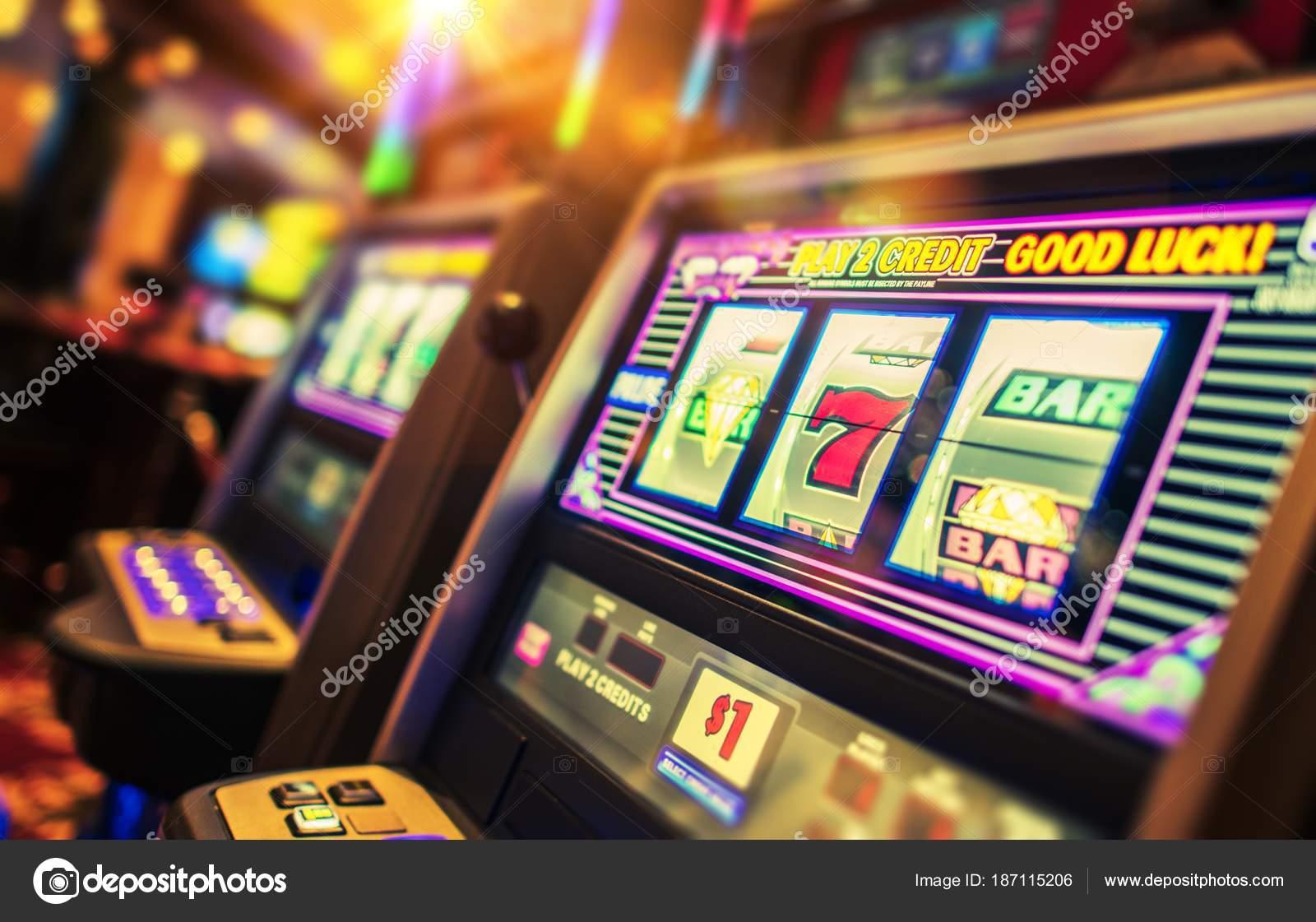 Игровые автоматы - slot machines