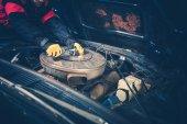 Klasické auto údržby