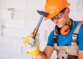 Fotografie Construction Worker Theme