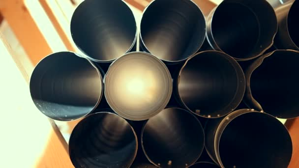 House Air Ventilation System Pipelines Ready For Assembly.