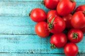Fotografie čerstvá cherry rajčata