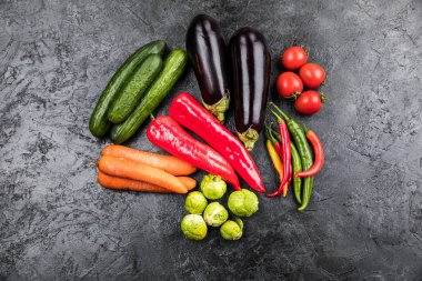 fresh seasonal vegetables