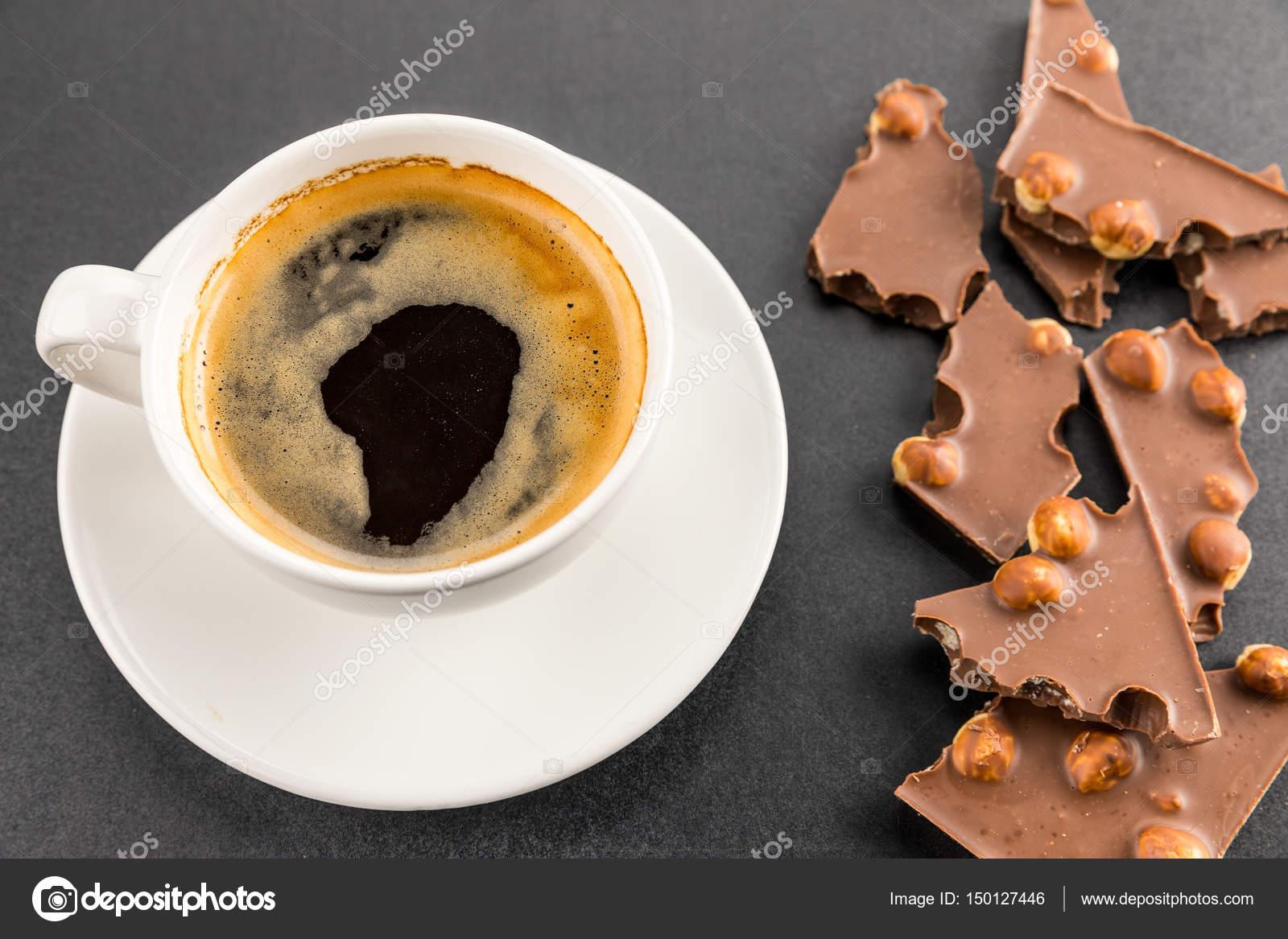 kaffe med choklad
