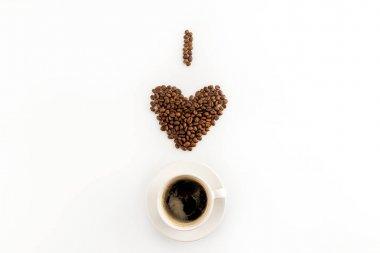I love coffee concept
