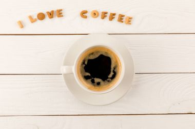 coffee mug steam and lettering