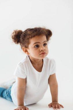 adorable little kid girl