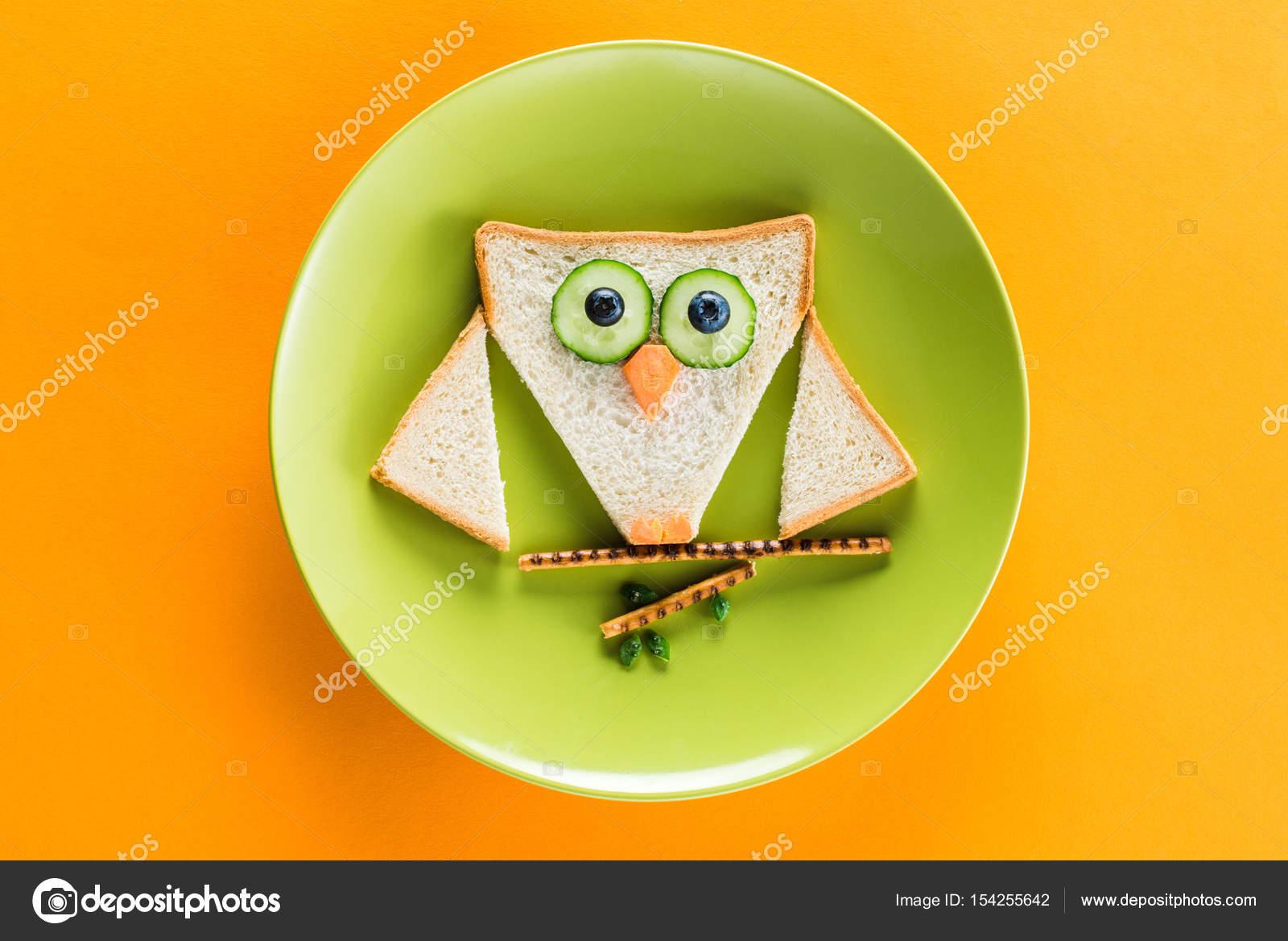 Divertido Desayuno Para Niño