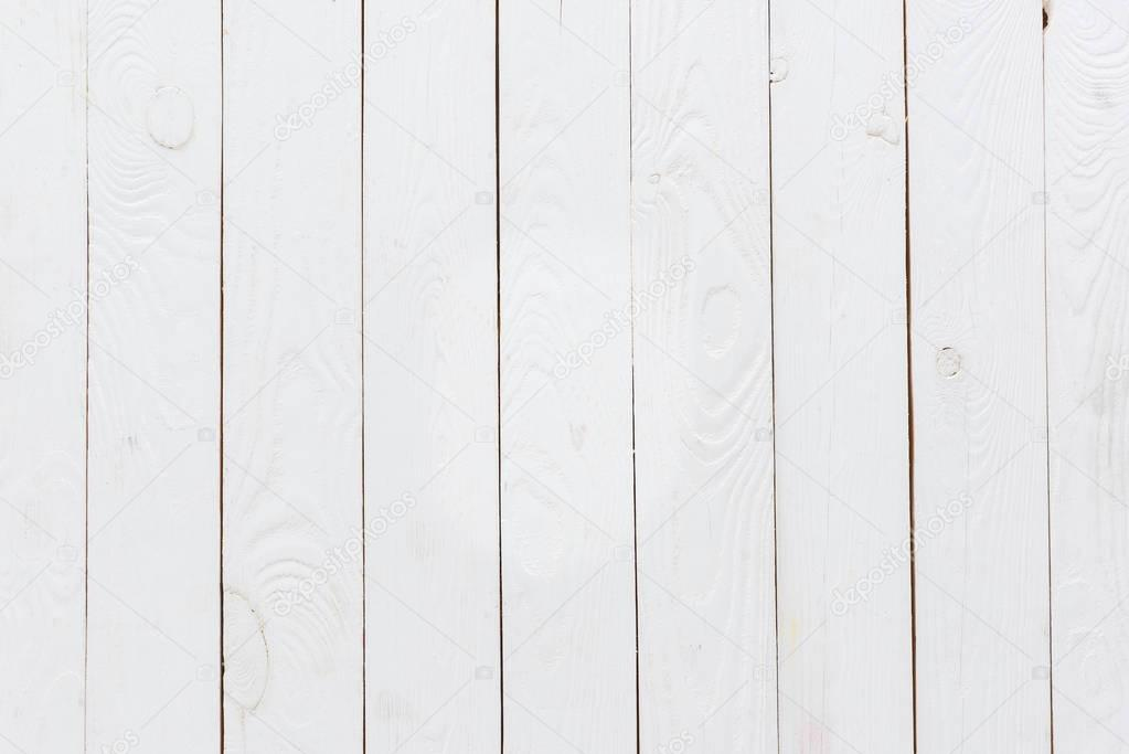 empty white wooden background