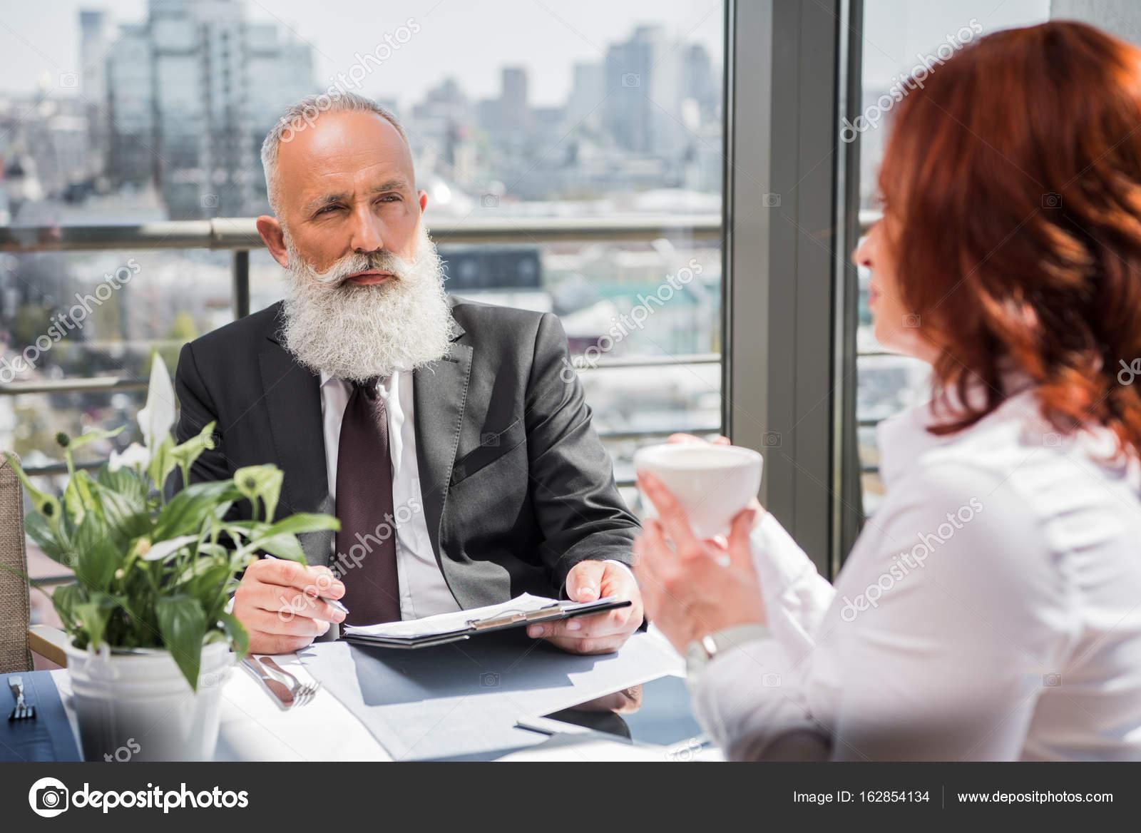 Mature meeting