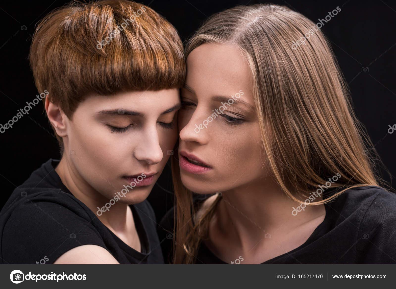 Kön lesbisk klipp