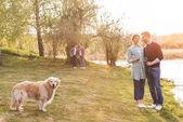 rodina na venkově