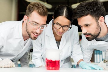 Young scientists in laboratory