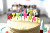 Fotografia torta di compleanno gustoso