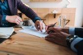 podepsání smlouvy na setkání podnikatelů