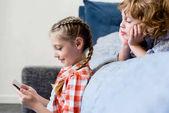 Fotografie děti pomocí smartphonu